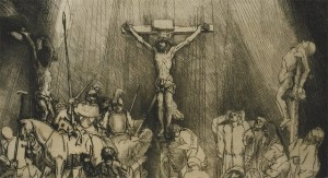 De drie kruisen, Rembrandt, rembrand, van rijn