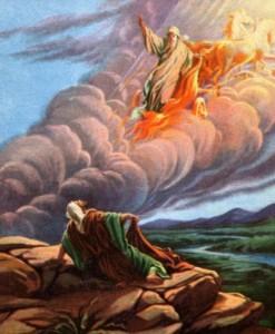 Elia, geestesziek, profeet